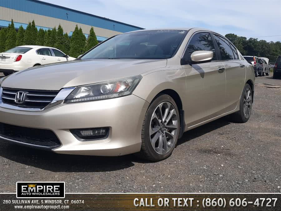 Used 2014 Honda Accord Sedan in S.Windsor, Connecticut | Empire Auto Wholesalers. S.Windsor, Connecticut