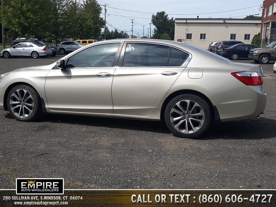 Used Honda Accord Sedan 4dr I4 CVT Sport 2014 | Empire Auto Wholesalers. S.Windsor, Connecticut