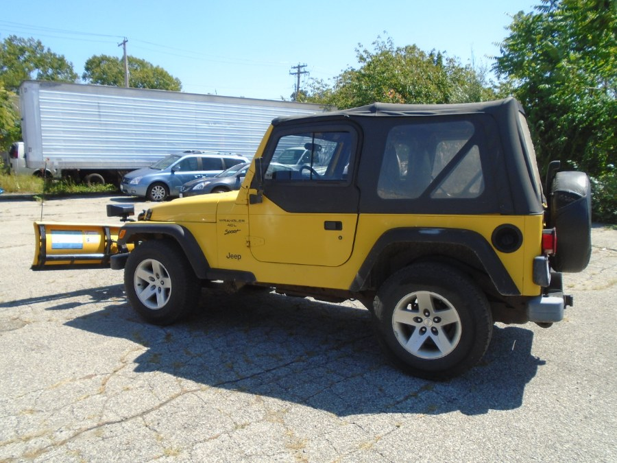 2001 Jeep Wrangler 2dr Sport, available for sale in Milford, Connecticut | Dealertown Auto Wholesalers. Milford, Connecticut