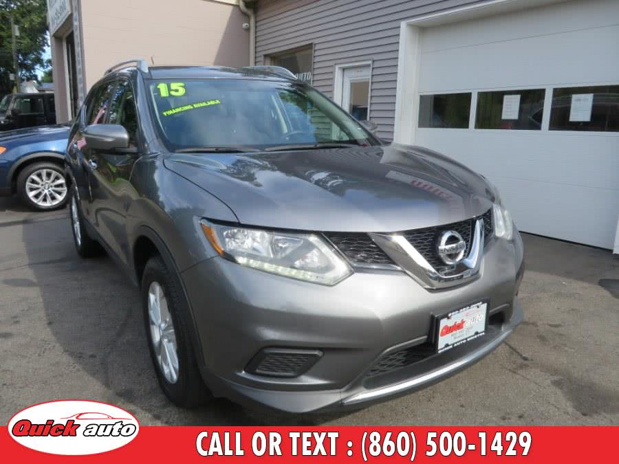 Used 2015 Nissan Rogue in Bristol, Connecticut | Quick Auto LLC. Bristol, Connecticut