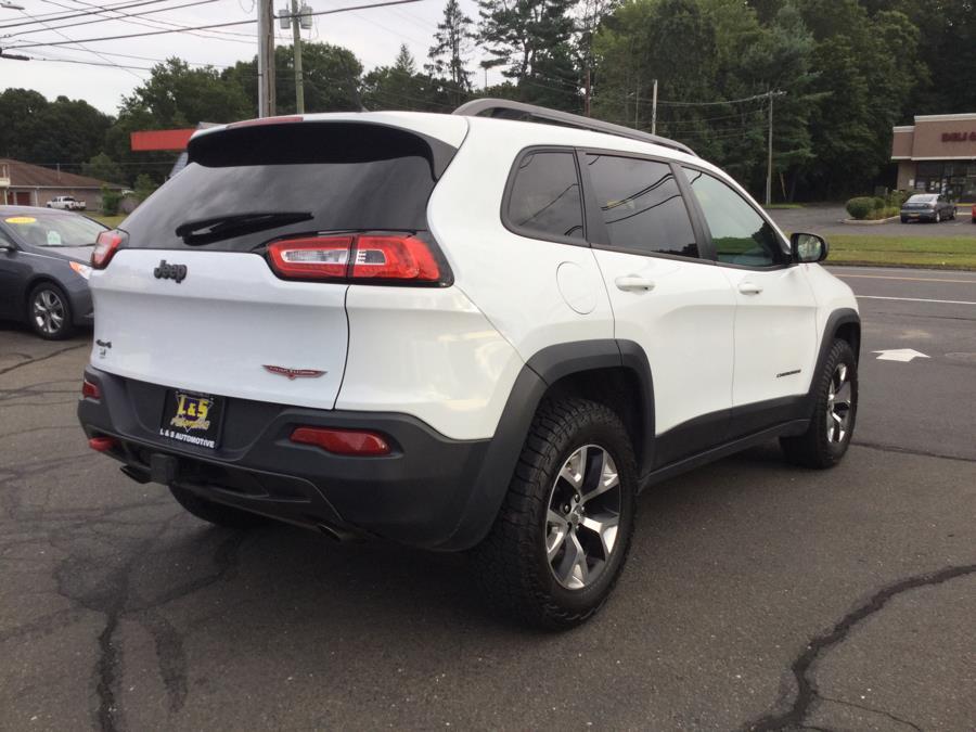 Used Jeep Cherokee 4WD 4dr Trailhawk 2014 | L&S Automotive LLC. Plantsville, Connecticut