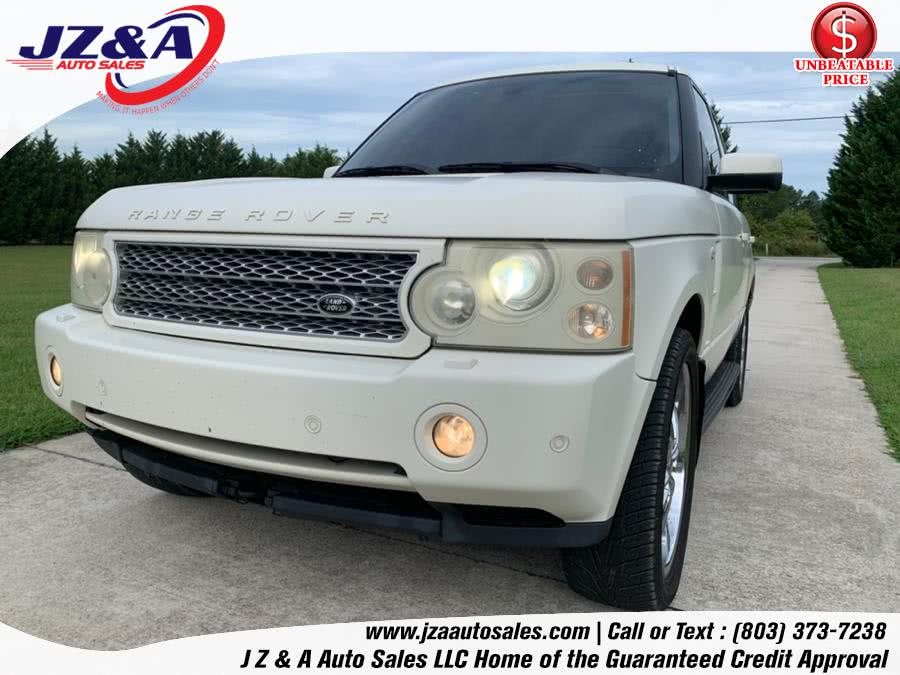 Used Land Rover Range Rover 4WD 4dr SC 2007 | J Z & A Auto Sales LLC. York, South Carolina