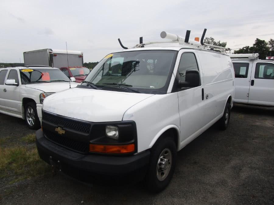 Used 2011 Chevrolet Express Cargo Van in Waterbury, Connecticut | Tony's Auto Sales. Waterbury, Connecticut