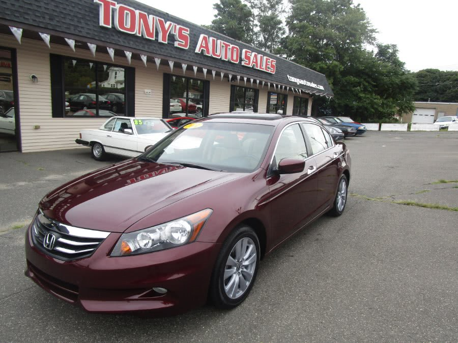 2011 Honda Accord Sdn 4Door, available for sale in Waterbury, Connecticut | Tony's Auto Sales. Waterbury, Connecticut