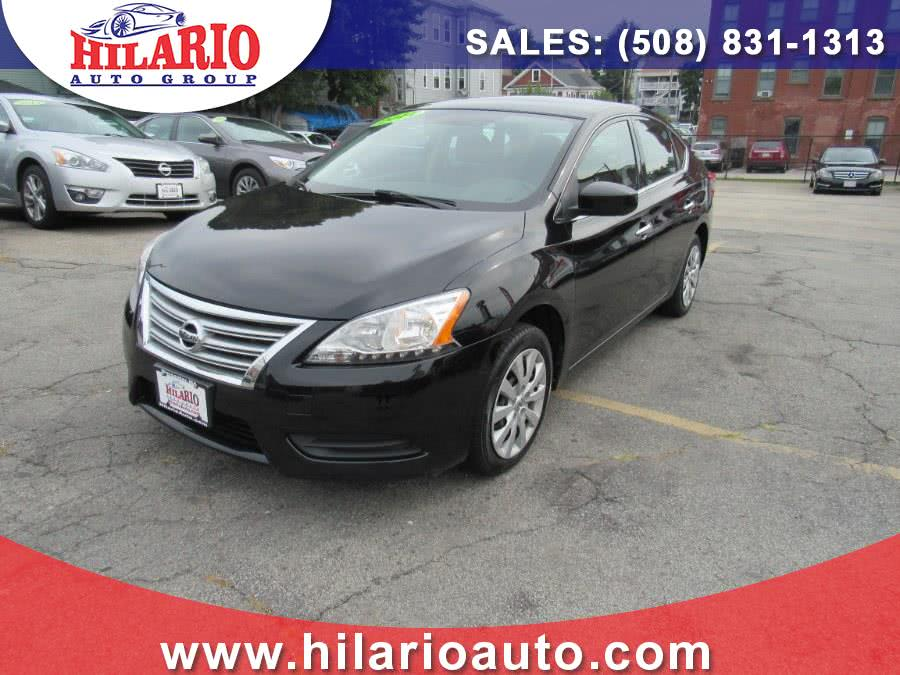 2014 Nissan Sentra 4dr Sdn I4 CVT S, available for sale in Worcester, Massachusetts | Hilario's Auto Sales Inc.. Worcester, Massachusetts