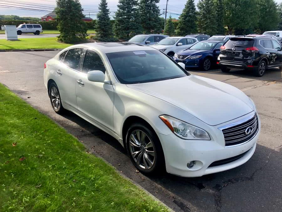 2012 INFINITI M37 4dr Sdn AWD, available for sale in New Haven, Connecticut   Primetime Auto Sales and Repair. New Haven, Connecticut