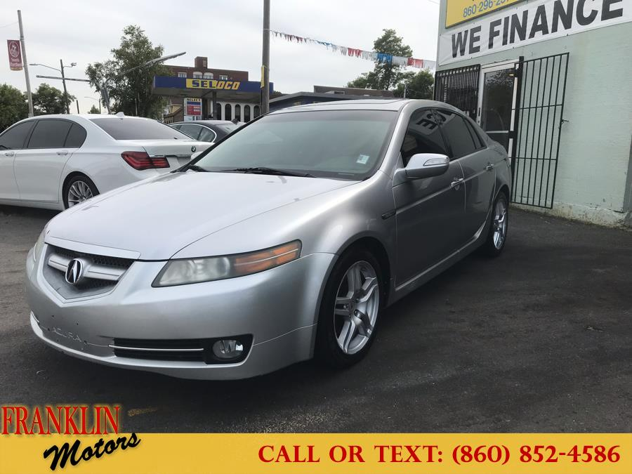 2008 Acura TL 4dr Sdn Auto, available for sale in Hartford, Connecticut   Franklin Motors Auto Sales LLC. Hartford, Connecticut