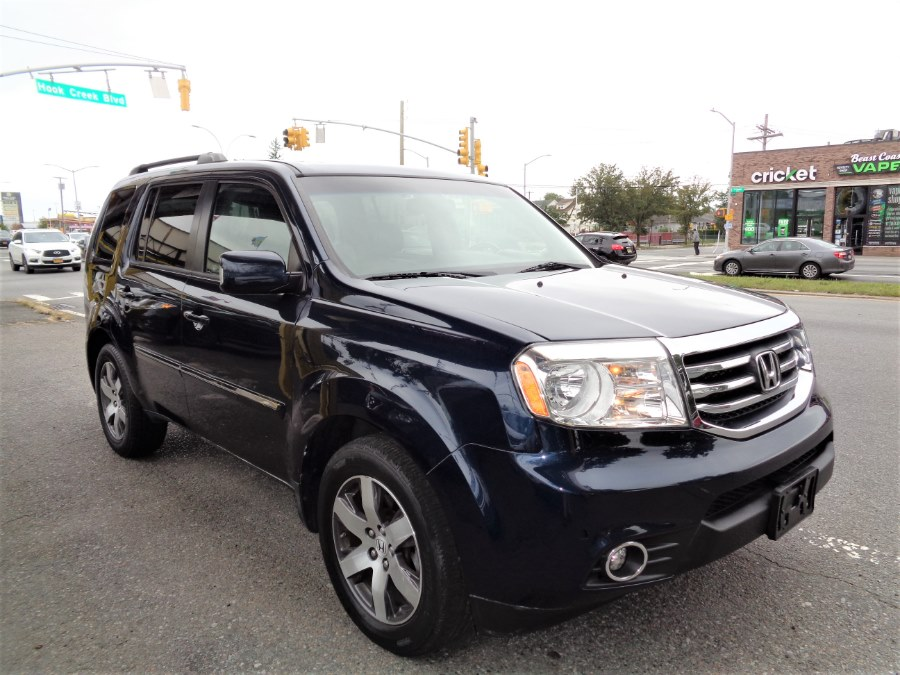 2012 Honda Pilot 4WD 4dr Touring w/RES & Navi, available for sale in Rosedale, New York | Sunrise Auto Sales. Rosedale, New York