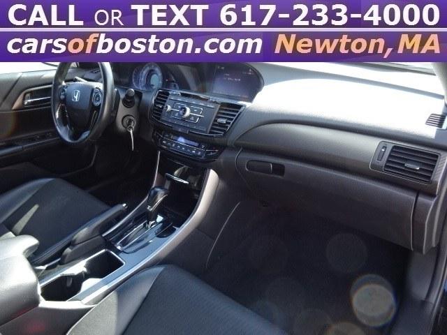 Used Honda Accord Sedan Sport CVT 2017 | Motorcars of Boston. Newton, Massachusetts