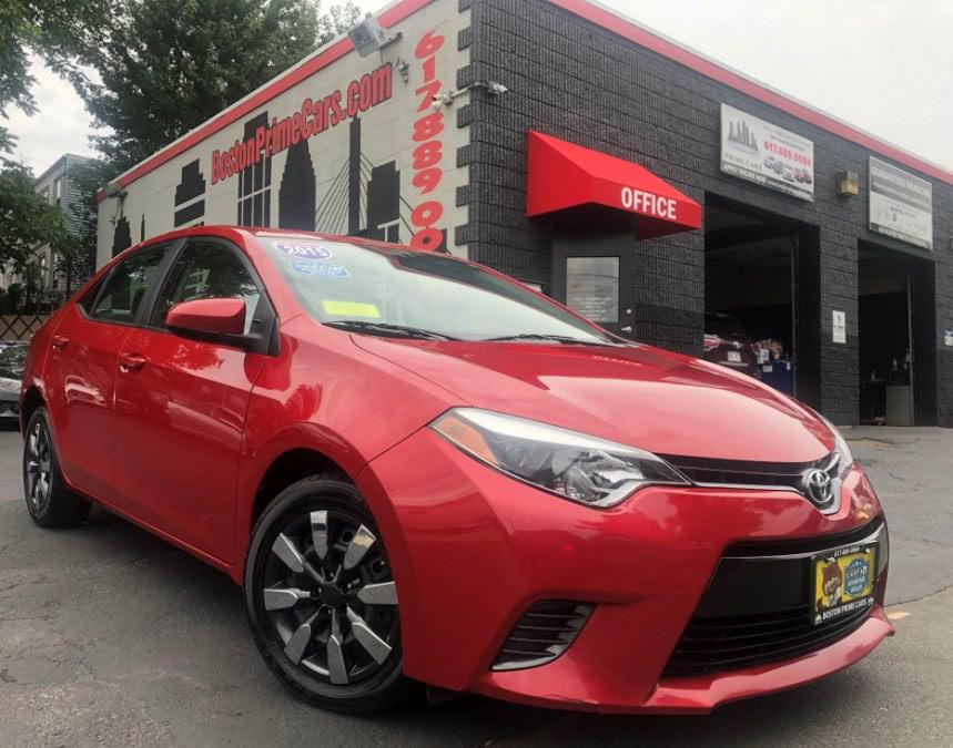 Used 2015 Toyota Corolla in Chelsea, Massachusetts | Boston Prime Cars Inc. Chelsea, Massachusetts