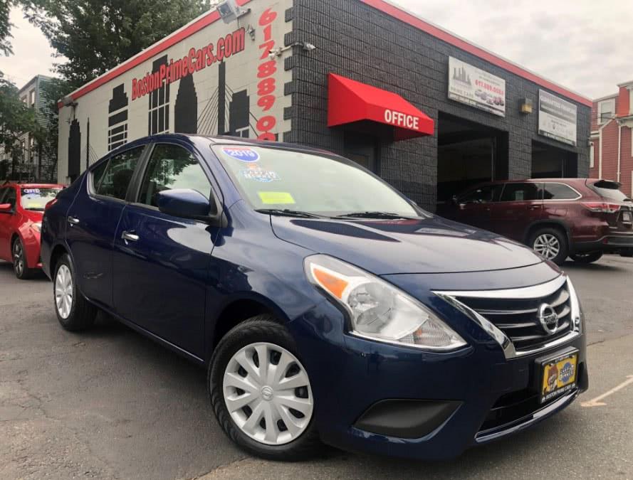Used 2019 Nissan Versa Sedan in Chelsea, Massachusetts | Boston Prime Cars Inc. Chelsea, Massachusetts