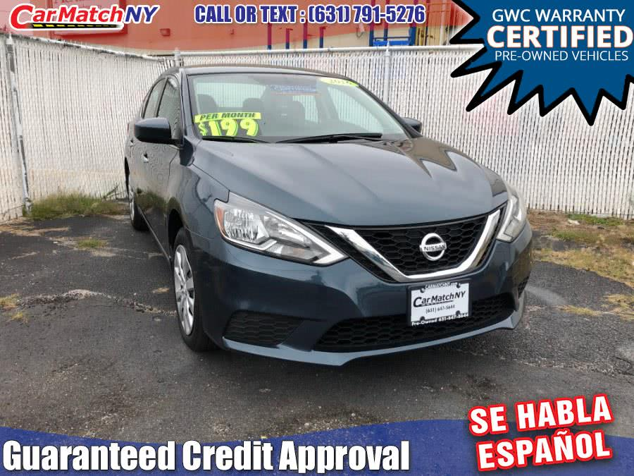 2016 Nissan Sentra 4dr Sdn I4 CVT SV, available for sale in Bayshore, NY