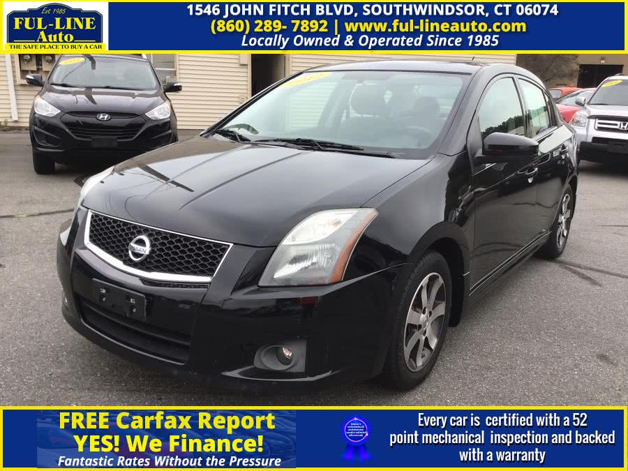 Used Nissan Sentra 4dr Sdn I4 CVT 2.0 SR 2012 | Ful-line Auto LLC. South Windsor , Connecticut