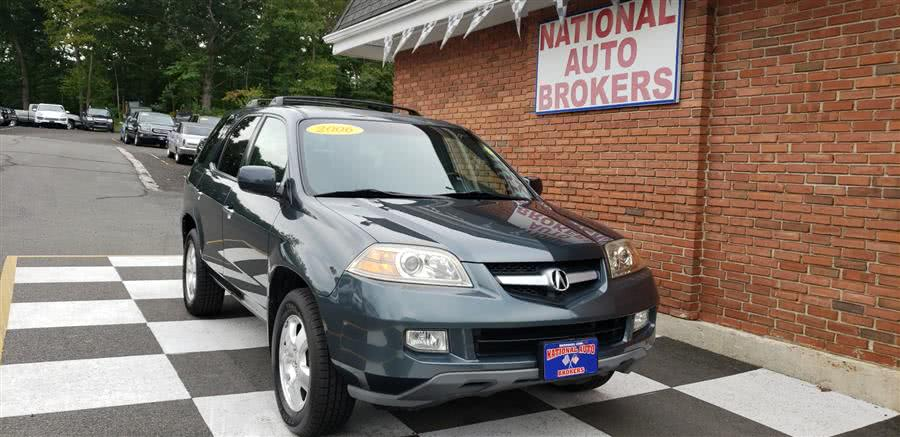 Used Acura MDX 4dr SUV AT 2006 | National Auto Brokers, Inc.. Waterbury, Connecticut