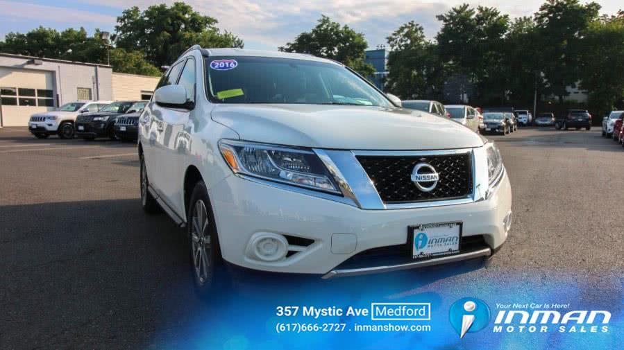 Used 2016 Nissan Pathfinder in Medford, Massachusetts   Inman Motors Sales. Medford, Massachusetts