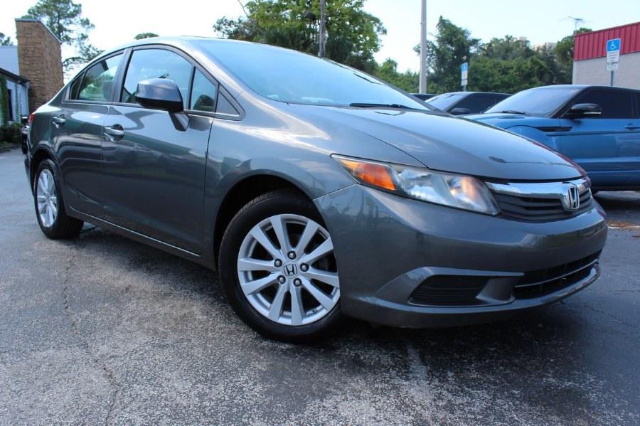2012 Honda Civic EX 4dr Sdn Auto, available for sale in Orlando, Florida   Mint Auto Sales. Orlando, Florida