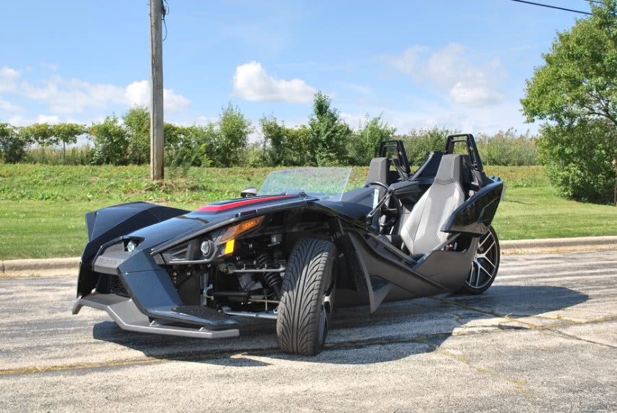 Used 2017 POLARIS SLINGSHOT in Plainfield, Illinois | Showcase of Cycles. Plainfield, Illinois