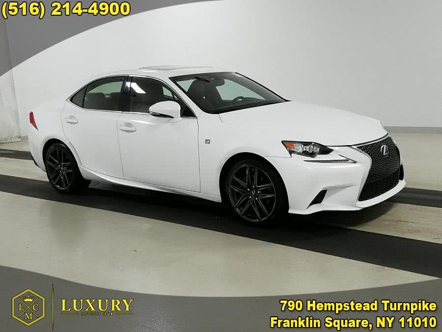 Used Lexus IS 250 4dr Sport Sdn Auto 2014 | Luxury Motor Club. Franklin Square, New York