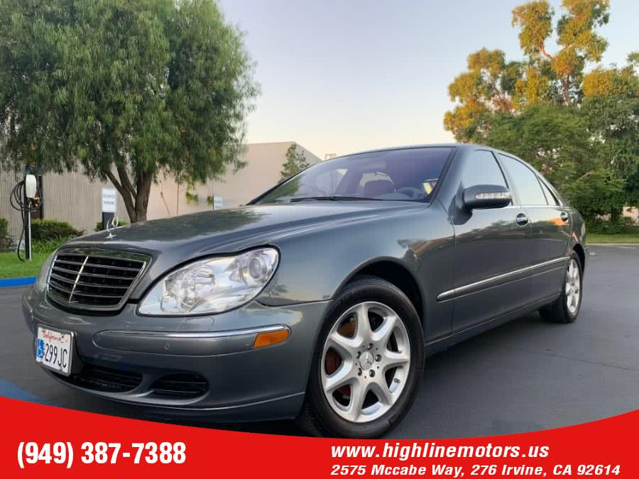 Used 2006 Mercedes-Benz S500 in Irvine, California | High Line Motors LLC. Irvine, California