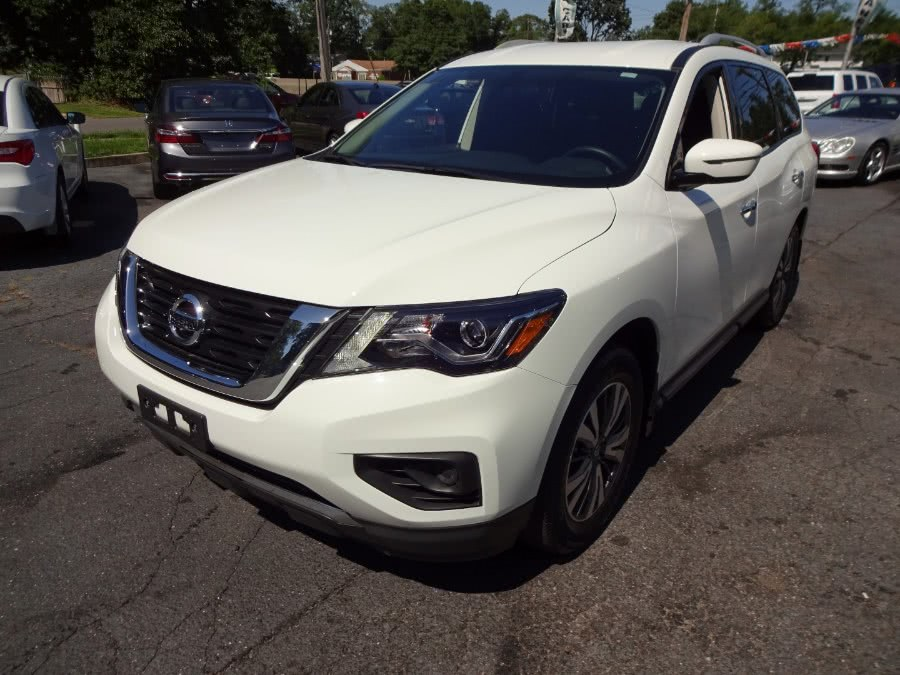 2017 Nissan Pathfinder 4x4 S, available for sale in Islip, New York | Mint Auto Sales. Islip, New York