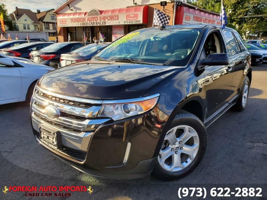 2013 Ford Edge 4dr SEL FWD, available for sale in Irvington, New Jersey   Foreign Auto Imports. Irvington, New Jersey