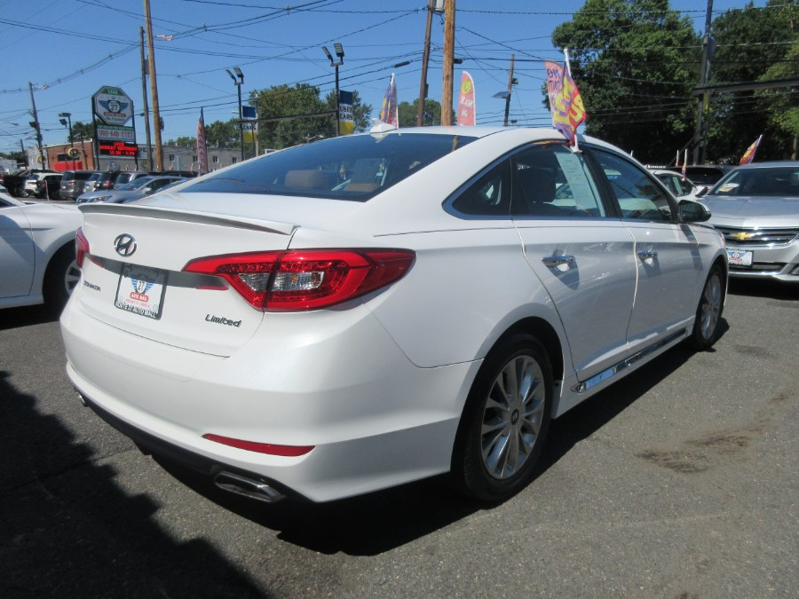 Used Hyundai Sonata 4dr Sdn 2.4L Limited w/Brown Seats 2015 | Route 27 Auto Mall. Linden, New Jersey
