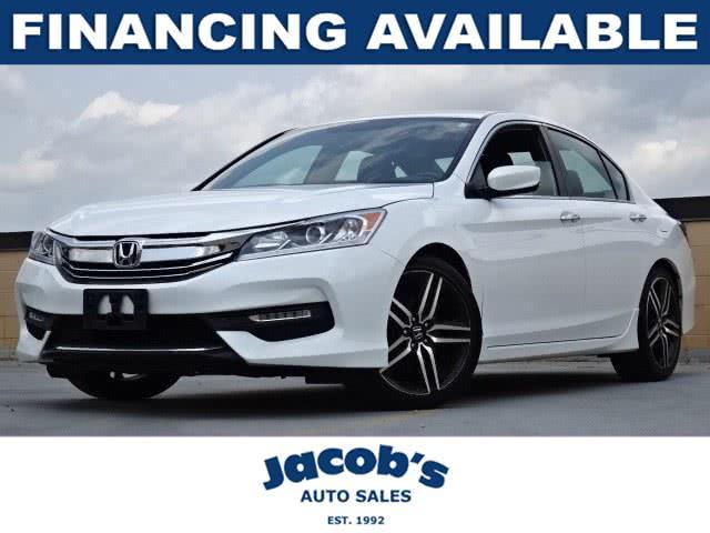Used Honda Accord Sedan Sport CVT w/Honda Sensing 2017 | Jacob Auto Sales. Newton, Massachusetts
