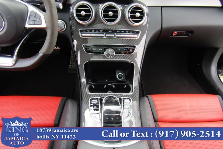 2017 Mercedes-Benz C-Class AMG C 63 S Coupe, available for sale in Hollis, New York | King of Jamaica Auto Inc. Hollis, New York