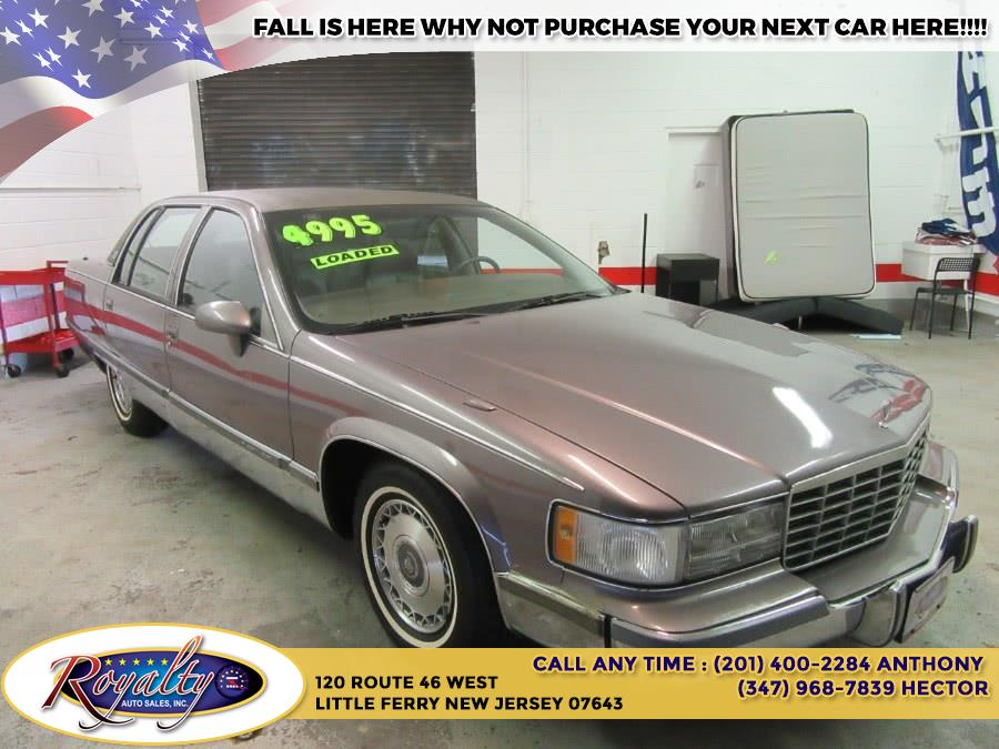1993 Cadillac Fleetwood 4dr Sedan, available for sale in Little Ferry, New Jersey   Royalty Auto Sales. Little Ferry, New Jersey
