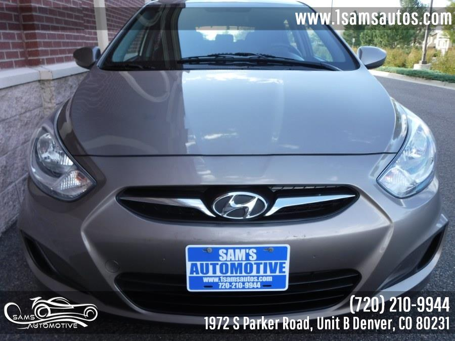 2014 Hyundai Accent 5dr HB Manual GS, available for sale in Denver, Colorado | Sam's Automotive. Denver, Colorado