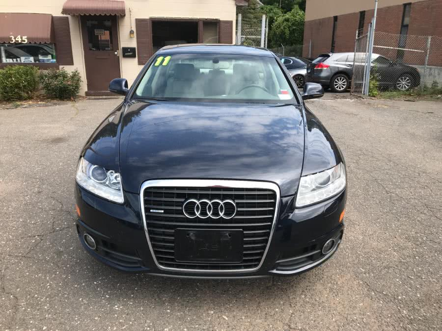 2011 Audi A6 4dr Sdn quattro 3.0T Premium Plus, available for sale in Manchester, Connecticut | Best Auto Sales LLC. Manchester, Connecticut