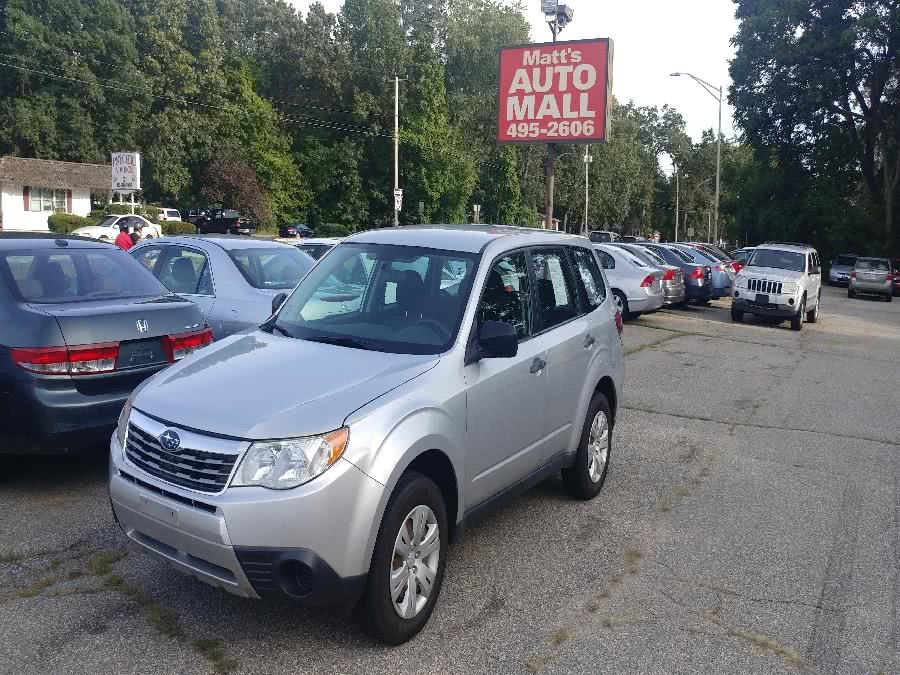 2009 Subaru Forester 4dr Auto X, available for sale in Chicopee, MA
