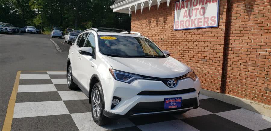 Used Toyota RAV4 Hybrid AWD 4dr XLE 2016 | National Auto Brokers, Inc.. Waterbury, Connecticut