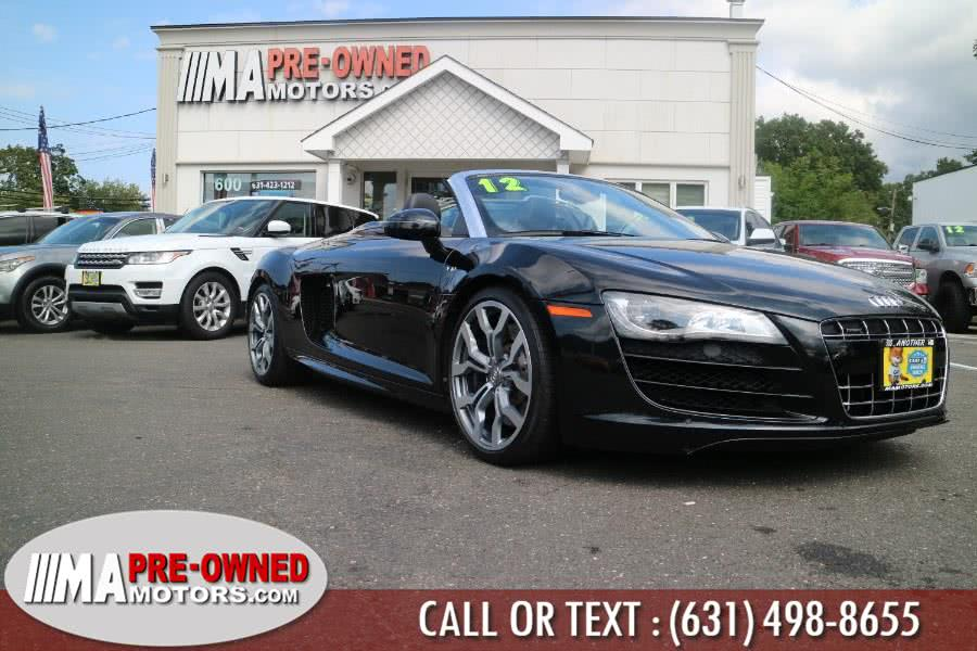 Used 2012 Audi R8 quattro v10 AWD in Huntington, New York | M & A Motors. Huntington, New York