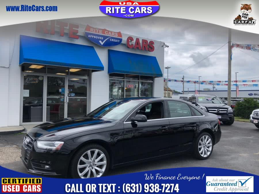 Used 2013 Audi A4 in Lindenhurst, New York | Rite Cars, Inc. Lindenhurst, New York