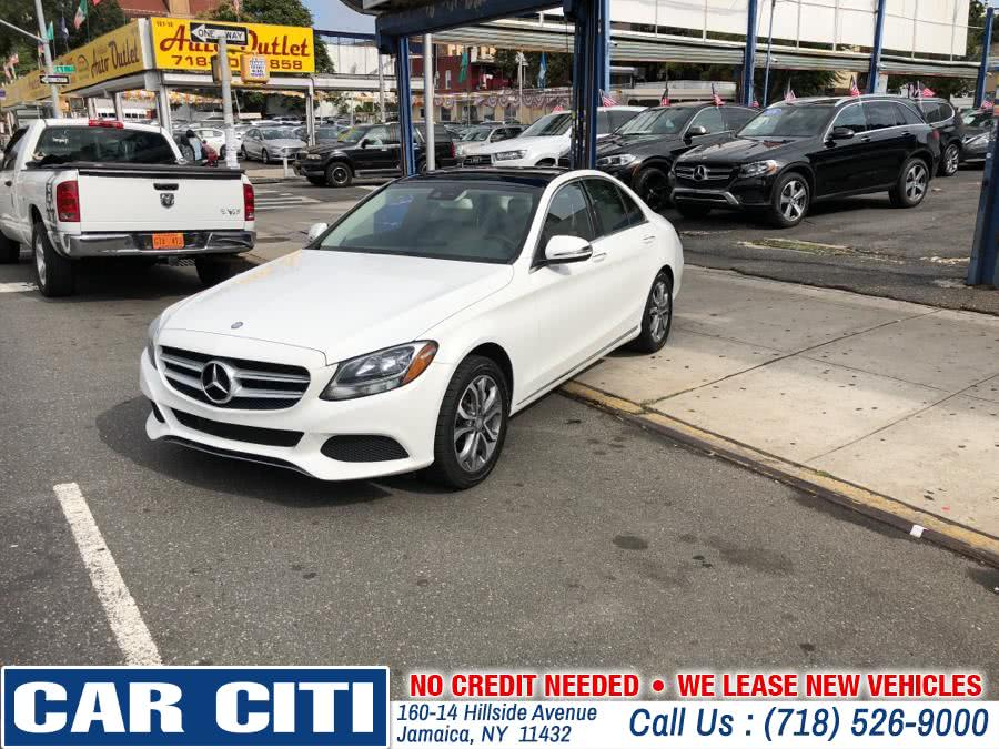 2016 Mercedes-Benz C-Class 4dr Sdn C 300 Luxury 4MATIC, available for sale in Jamaica, New York | Car Citi. Jamaica, New York