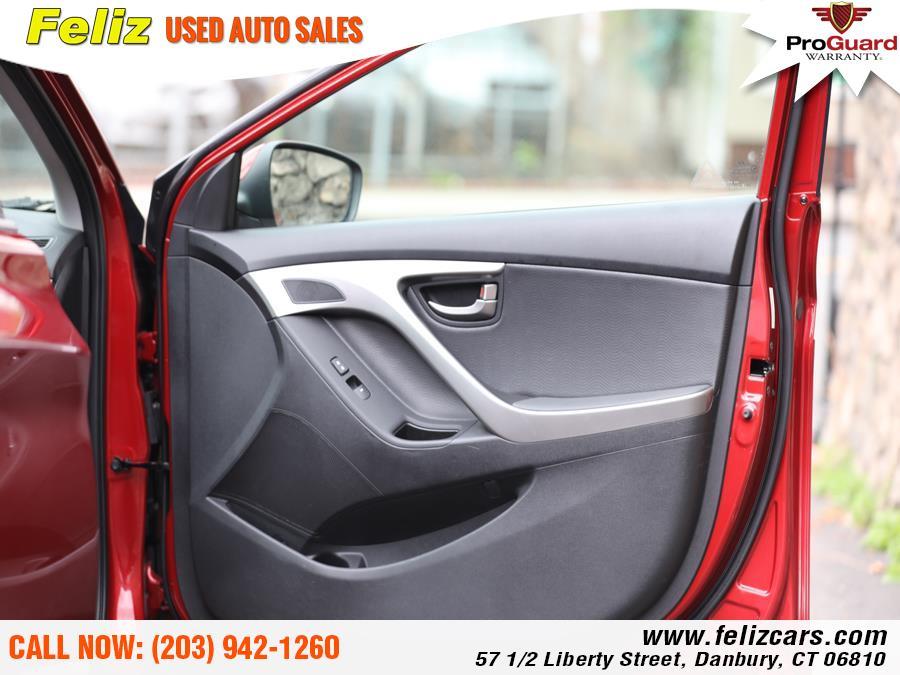 Used Hyundai Elantra 4dr Sdn Auto GLS 2012 | Feliz Used Auto Sales. Danbury, Connecticut