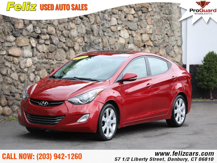 Used 2012 Hyundai Elantra in Danbury, Connecticut | Feliz Used Auto Sales. Danbury, Connecticut