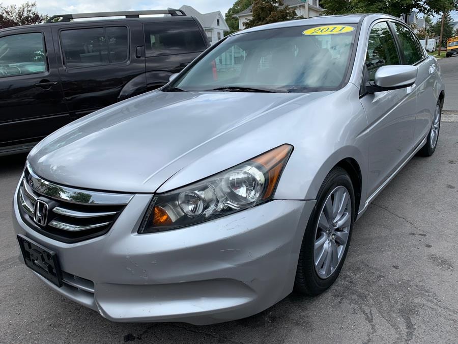 2011 Honda Accord Sdn 4dr I4 Auto EX, available for sale in New Britain, Connecticut | Central Auto Sales & Service. New Britain, Connecticut
