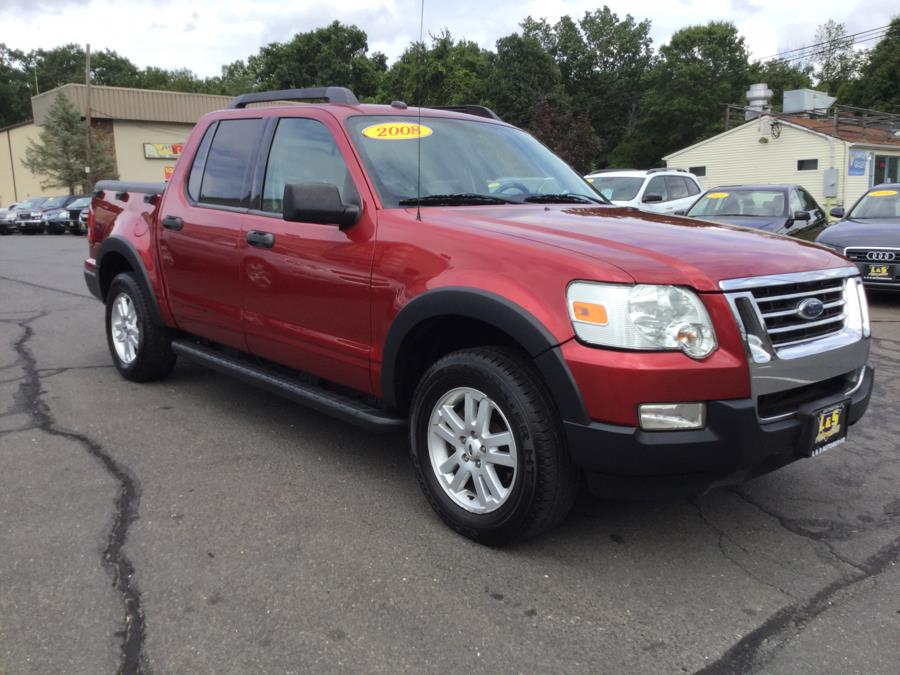 2008 Ford Explorer Sport Trac 4WD 4dr V6 XLT, available for sale in Plantsville, Connecticut | L&S Automotive LLC. Plantsville, Connecticut