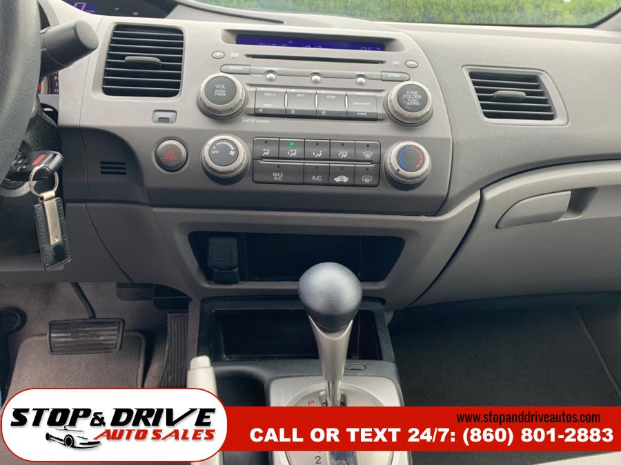 2008 Honda Civic Sdn 4dr Auto LX, available for sale in East Windsor, Connecticut | Stop & Drive Auto Sales. East Windsor, Connecticut