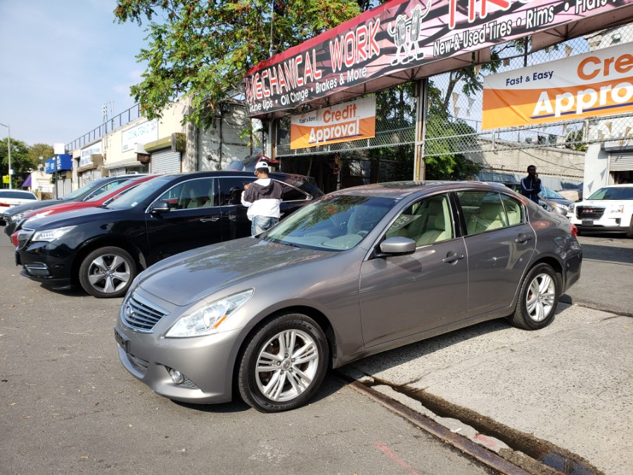 2012 Infiniti G37 Sedan 4dr x AWD, available for sale in Brooklyn, New York | Rubber Bros Auto World. Brooklyn, New York