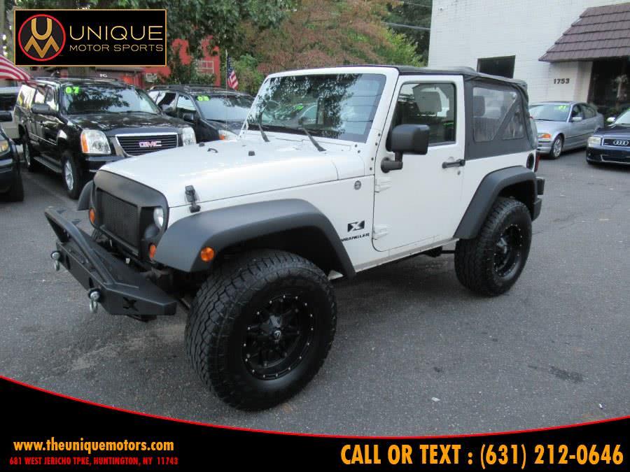 Used Jeep Wrangler 4WD 2dr X 2007 | Unique Motor Sports. Huntington, New York