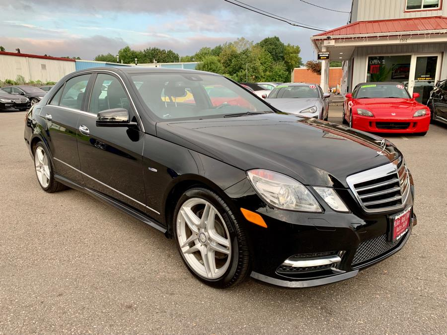 2012 Mercedes-Benz E-Class 4dr Sdn E350 Sport 4MATIC, available for sale in South Windsor, Connecticut | Mike And Tony Auto Sales, Inc. South Windsor, Connecticut
