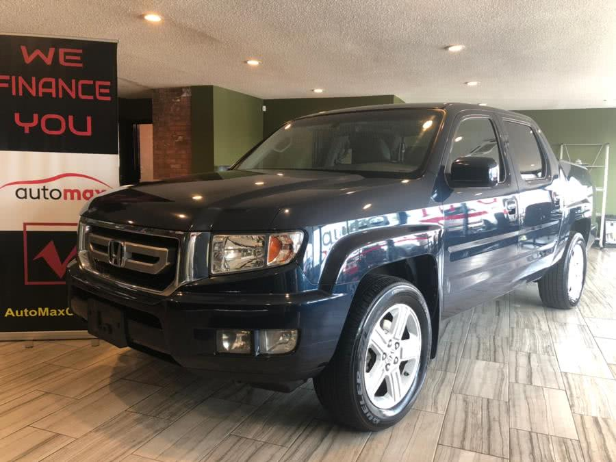 2011 Honda Ridgeline 4WD Crew Cab RTL, available for sale in West Hartford, Connecticut | AutoMax. West Hartford, Connecticut
