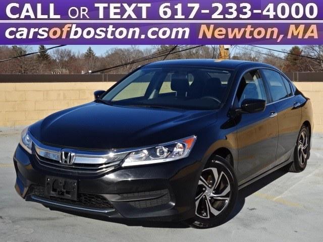 Used Honda Accord Sedan 4dr I4 CVT LX 2016 | Jacob Auto Sales. Newton, Massachusetts