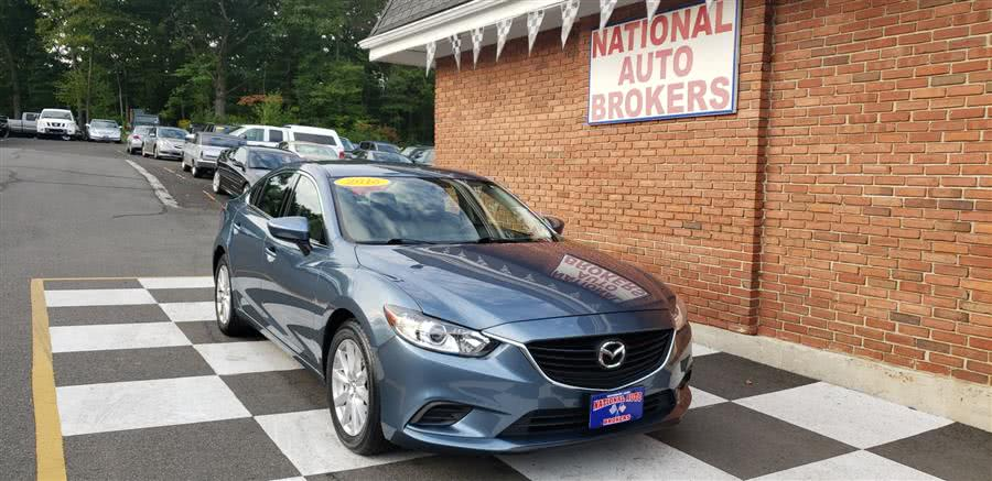 Used Mazda Mazda6 4dr Sdn Auto i Sport 2016 | National Auto Brokers, Inc.. Waterbury, Connecticut