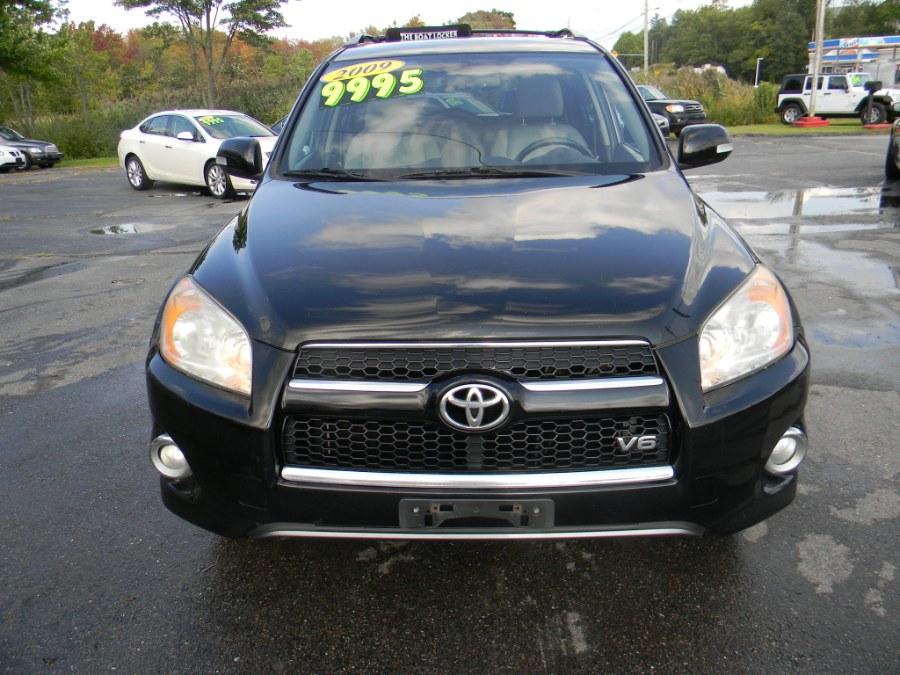 2009 Toyota RAV4 4WD 4dr V6 5-Spd AT Ltd (Natl), available for sale in Southborough, Massachusetts | M&M Vehicles Inc dba Central Motors. Southborough, Massachusetts
