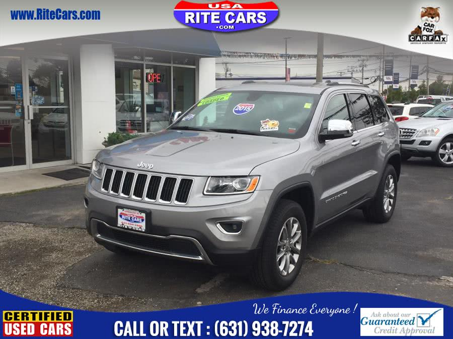 Used Jeep Grand Cherokee 4WD 4dr Limited w. NAVIGATION 2015 | Rite Cars, Inc. Lindenhurst, New York