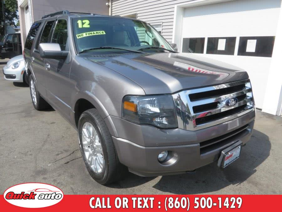 2012 Ford Expedition 4WD 4dr Limited, available for sale in Bristol, Connecticut | Quick Auto LLC. Bristol, Connecticut